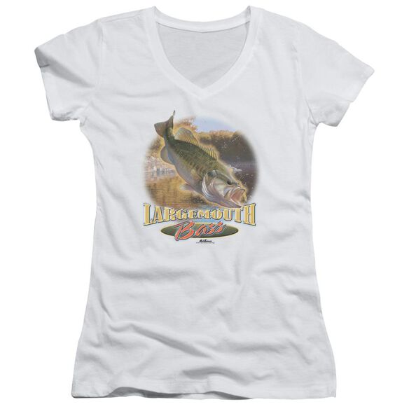 Wildlife Cartwheeling Junior V Neck T-Shirt