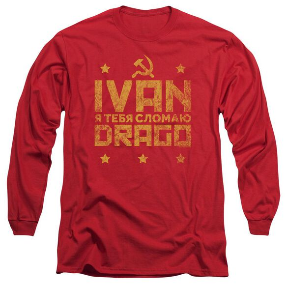 Rocky Iv Drago Break Long Sleeve Adult T-Shirt