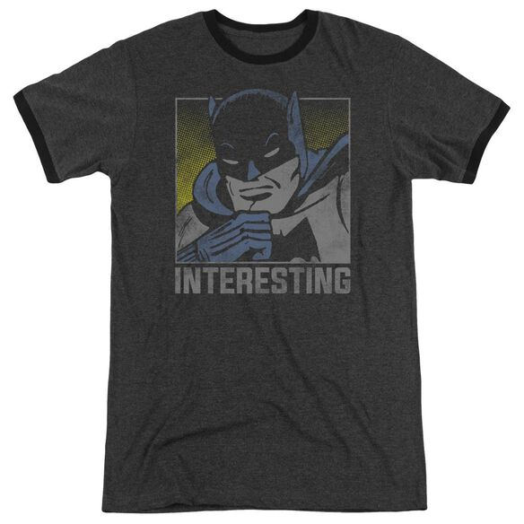 Dc Interesting Adult Heather Ringer Charcoal