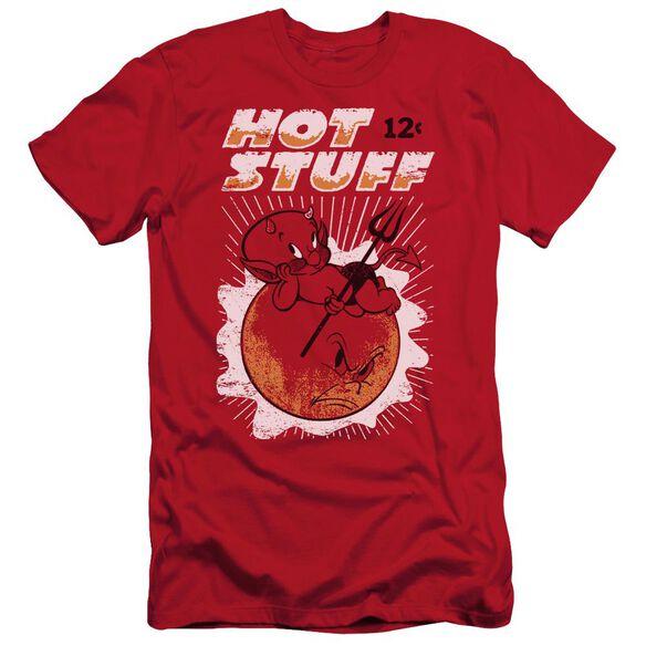 Hot Stuff On The Sun Short Sleeve Adult T-Shirt