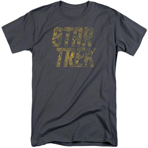 Star Trek Schematic Logo Short Sleeve Adult Tall T-Shirt