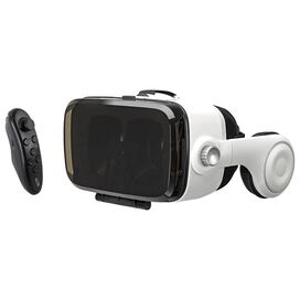 iLive 3D Virtual Reality Headset w/ Built-in Headphones and Microphone