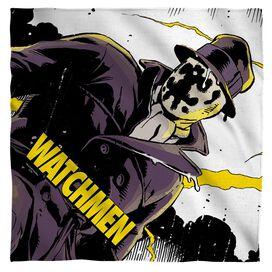 Watchmen Perched Bandana White