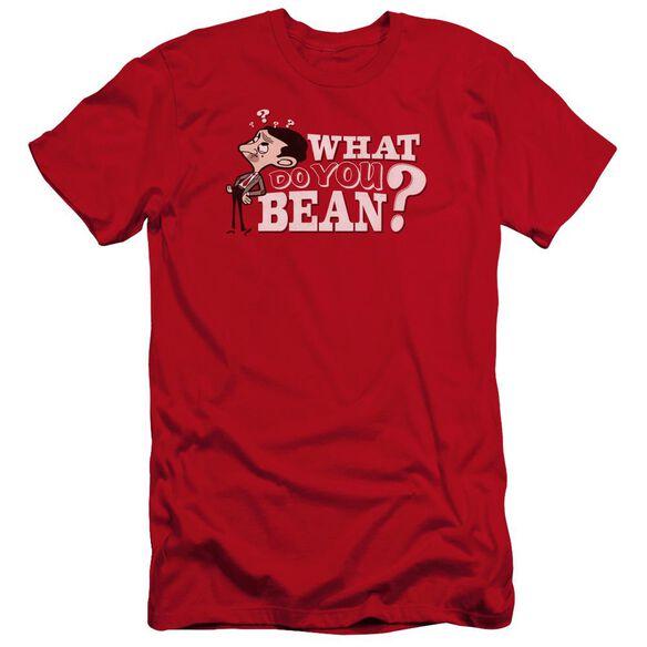 Mr Bean What You Bean Premuim Canvas Adult Slim Fit