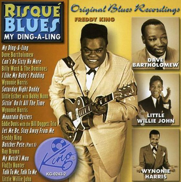 Various Artists - Risque Blues-My Ding-A-Ling / Various