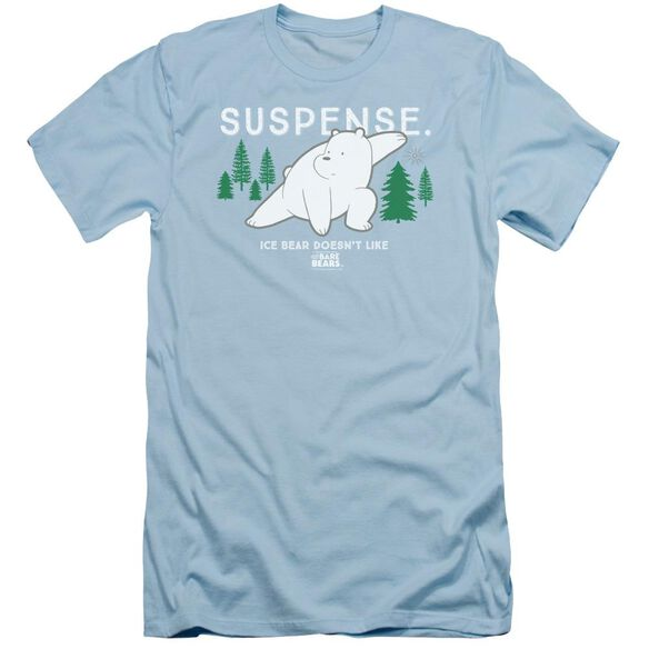 We Bare Bears Suspense Short Sleeve Adult Light T-Shirt