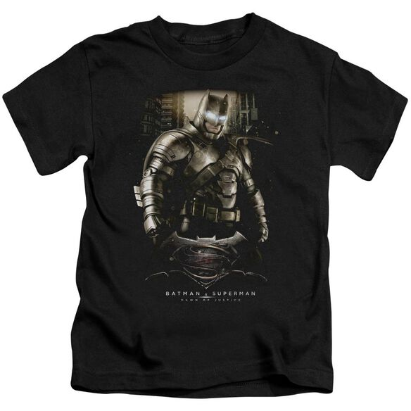 Batman V Superman Bats Ground Zero Short Sleeve Juvenile T-Shirt