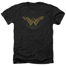 Wonder Woman Movie Distressed Logo Adult Heather
