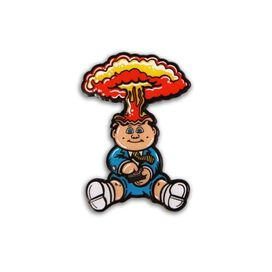 Garbage Pail Kids Adam Bomb Pin