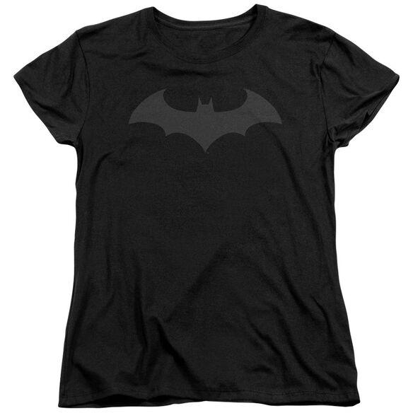 Batman Hush Logo Short Sleeve Womens Tee T-Shirt