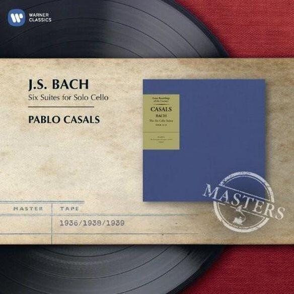 Pablo Casals - Bach: Cello Suites