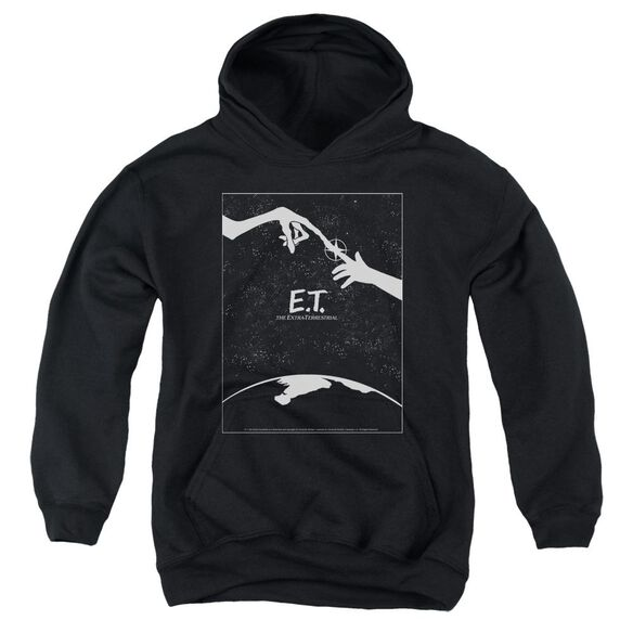 Et Simple Poster Youth Pull Over Hoodie