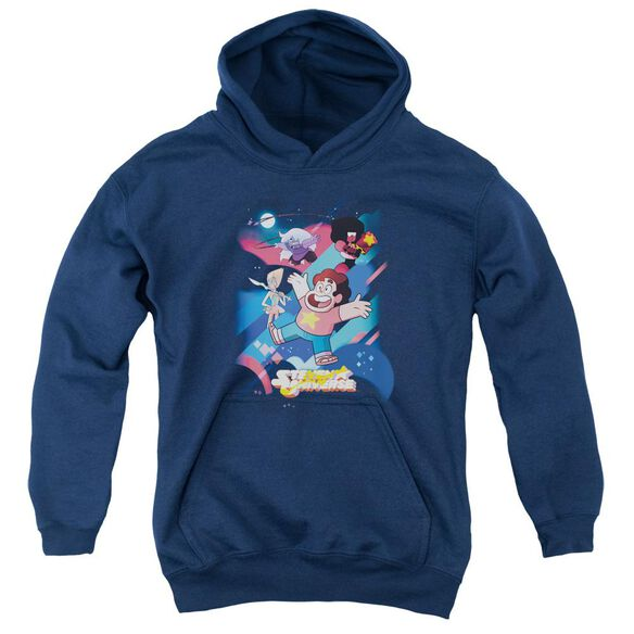 Steven Universe Group Shot Youth Pull Over Hoodie