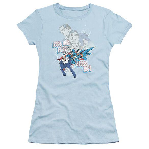 Dc Real Men Short Sleeve Junior Sheer Light T-Shirt