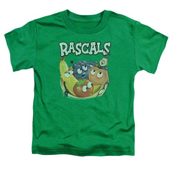 Dubble Bubble Rascals Short Sleeve Toddler Tee Kelly Green Sm T-Shirt