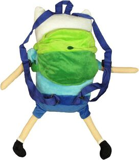 Adventure Time Finn Plush Backpack