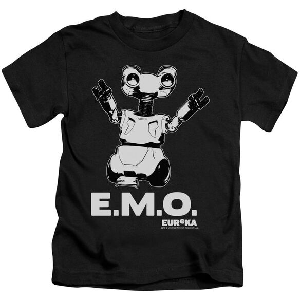 Eureka Emo Short Sleeve Juvenile Black Md T-Shirt