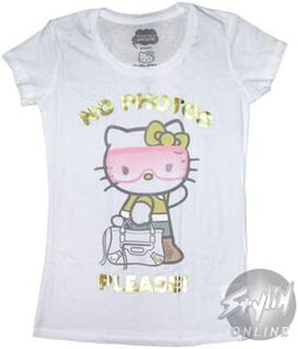 Hello Kitty No Photos Baby Tee