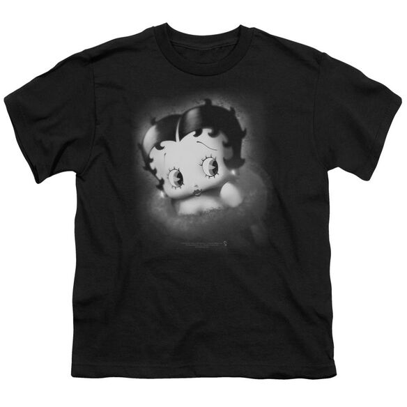 Betty Boop Vintage Star Short Sleeve Youth T-Shirt