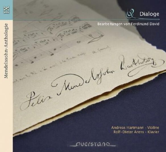 Mendelssohn/ Hartmann/ Arens - V9: Anthology