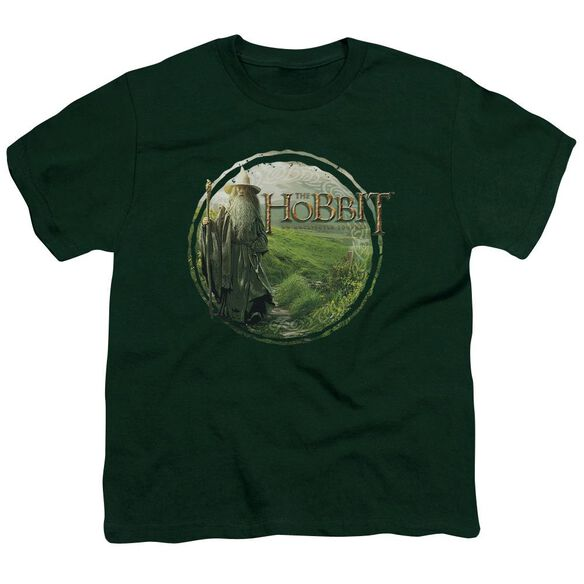 The Hobbit Gandalfs Journey Short Sleeve Youth Hunter T-Shirt