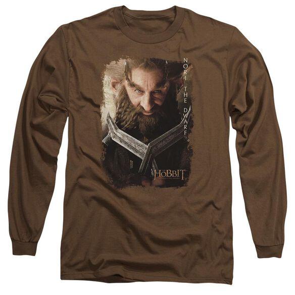 The Hobbit Nori Poster Long Sleeve Adult T-Shirt