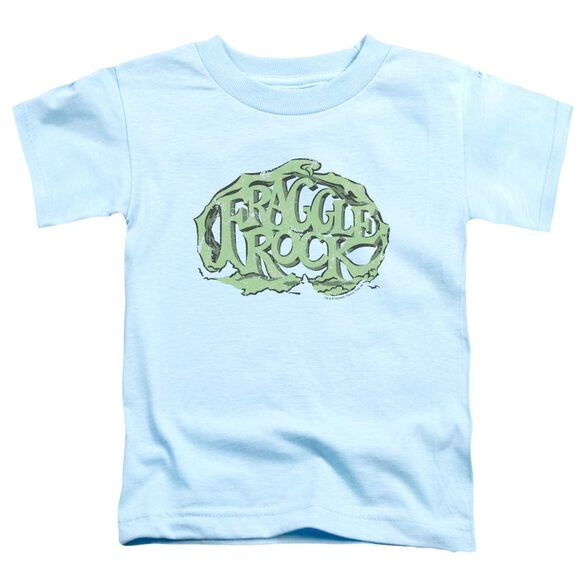 Fraggle Rock Vace Logo Short Sleeve Toddler Tee Light Blue T-Shirt