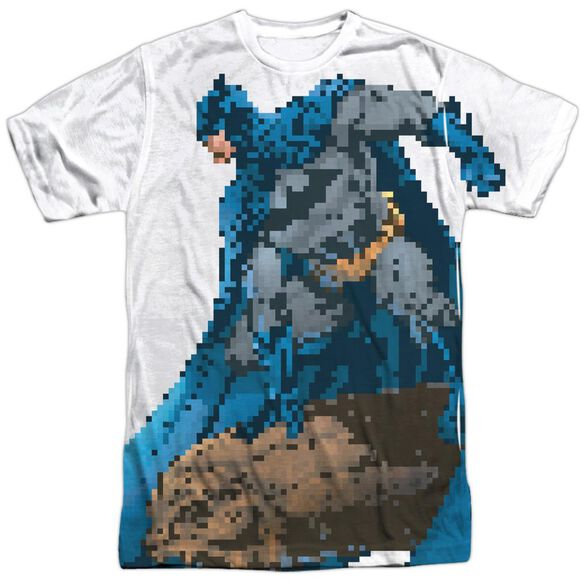 Batman Batbit Short Sleeve Adult Poly Crew T-Shirt