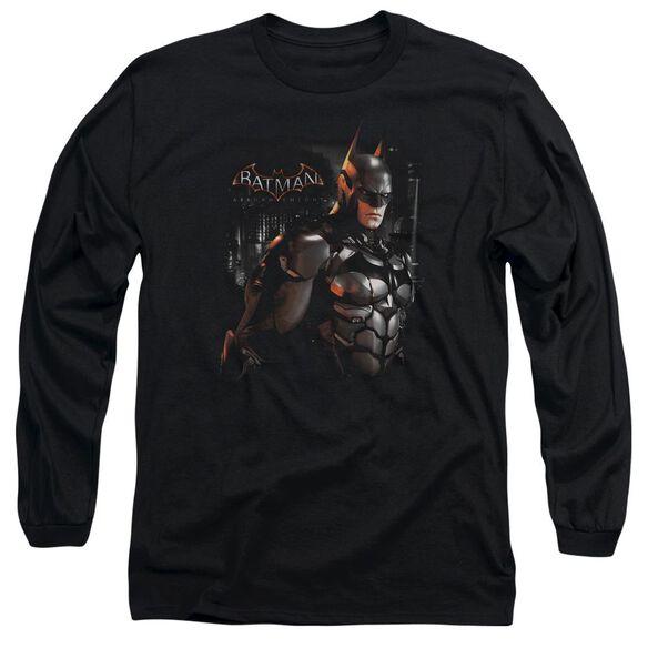 Batman Arkham Knight Dark Knight Long Sleeve Adult T-Shirt