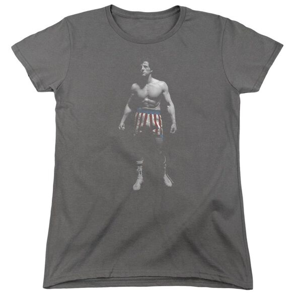 Rocky Stand Alone Short Sleeve Womens Tee T-Shirt