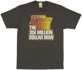 Six Million Dollar Man Run T-Shirt