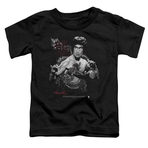 Bruce Lee The Dragon Short Sleeve Toddler Tee Black Md T-Shirt