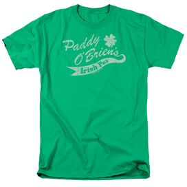 Paddy Obriens Irish Pub Short Sleeve Adult Kelly T-Shirt