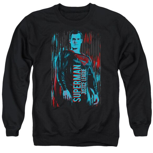 Justice League Movie Superman Adult Crewneck Sweatshirt