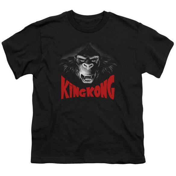 King Kong Kong Face Short Sleeve Youth T-Shirt