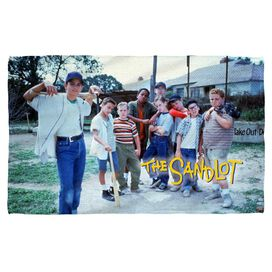 Sandlot Squad Towel White