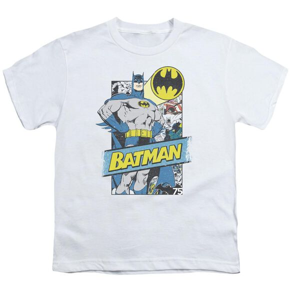 Batman Out Of The Pages Short Sleeve Youth T-Shirt