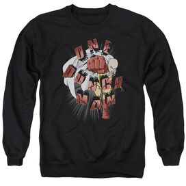 One Punch Man One Punch Adult Crewneck Sweatshirt
