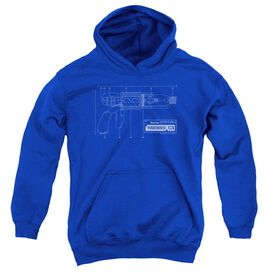 Warehouse 13 Tesla Gun-youth Pull-over Hoodie