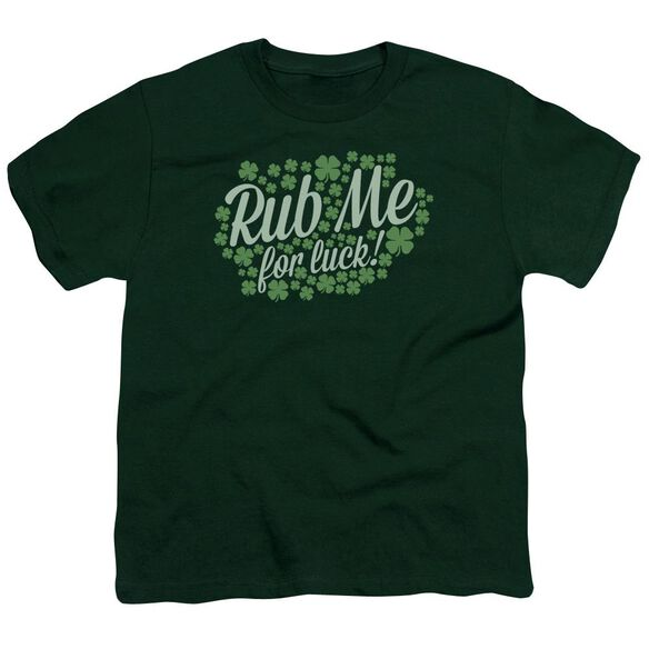 Rub Me Short Sleeve Youth Hunter T-Shirt