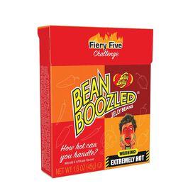 Jelly Belly - Bean Boozled Fiery Five Jell Beans [1.6 oz Flip Top Box]