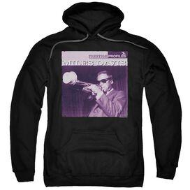 Miles Davis Prince Adult Pull Over Hoodie