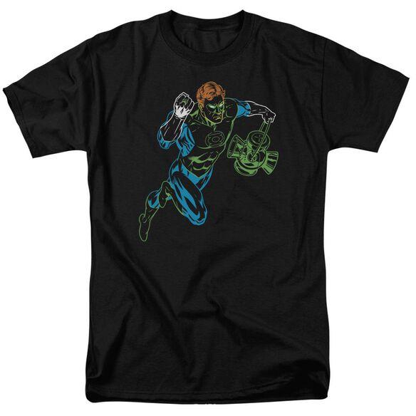 Gl Neon Lantern Short Sleeve Adult T-Shirt