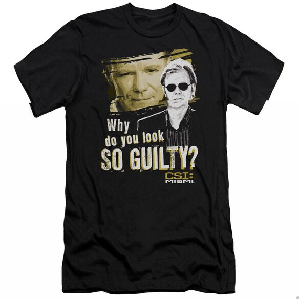 Csi Miami So Guilty-premuim Canvas Adult Slim