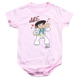 Elvis Lil E Infant Snapsuit Pink Xl
