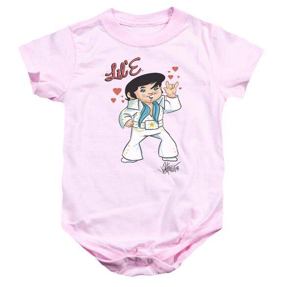 Elvis Lil E Infant Snapsuit Pink Xl