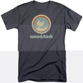 Woodstock Bird Circle Short Sleeve Adult Tall T-Shirt