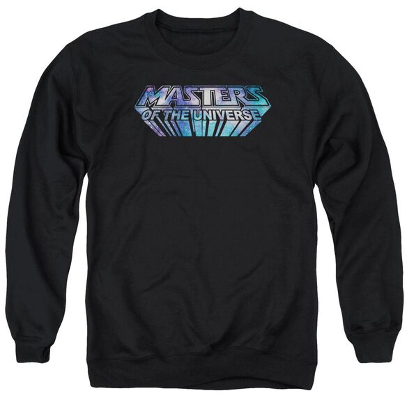 Masters Of The Universe Space Logo Adult Crewneck Sweatshirt