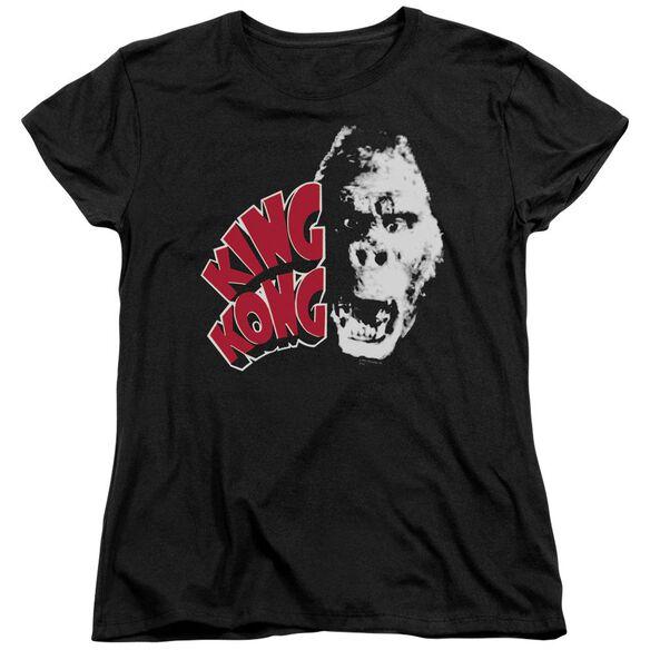 King Kong Kong Head Short Sleeve Womens Tee T-Shirt
