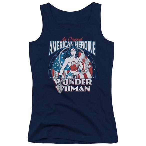 Dc American Heroine Juniors Tank Top